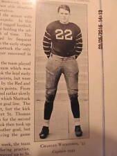 1933 Yearbook Shattuck School Faribault MN W/Bud Wilkinson Football Hall of Fame