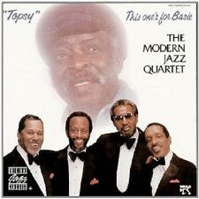 Modern Jazz quartet-topsy: this one's for Basie CD NEUF