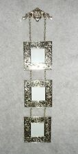"Bombay Gold Finish Ornate Picture Frame Chain Wall Hanging 22"" L"