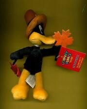 Daffy Duck Pilgrim Thanksgiving Autumn bean bag Looney Tunes new with tags
