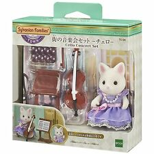 Sylvanian Families CELLO CONCERT SET TS-04 Town Series Epoch Calico Critters