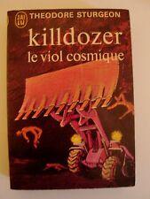 Livre Killdozer le viol cosmique de Theodore Sturgeon