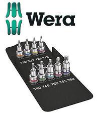 Wera 8767 C Zyklop Torx HF Screw Hold Socket Set of 9 1/2in Drive
