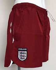 England Burgundy Training Shorts by Umbro  Size Ladies UK 12 Brand New with tags