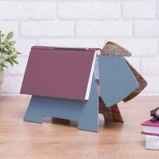 More details for stay doggy dog book rest page keeper grey blue bookmark gift reading dog lover