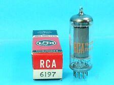 RCA 6197 VACUUM TUBE NOS NIB ABSOLUTELY NEW ORIGINAL BOX SINGLE SWEET NOS NIB