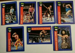 79 Classic WWF 1991 91 Series 2 trading cards lot Hulk Hogan, Bret Hart