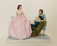 "1979 Norman Rockwell Museum Figurine ""Sweet Sixteen"" The American Family"