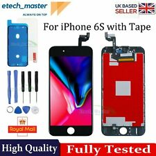 For iPhone 6S LCD Digitizer Replacement Screen Premium Display 3D Touch Black UK