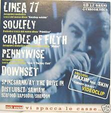 LINEA77-SOULFLY-PENNYWISE-SEAFOOD cd promo Italy mint