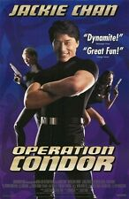 OPERATION CONDOR MOVIE POSTER ~ ORIGINAL 27x40 Jackie Chan Video Release