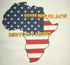 Black History Hero Tee Youth XS African American Heritage T new atbh2