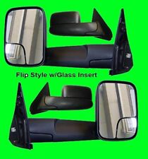 Dodge Ram 1500/2500 1998 1999 2000 2001 POWER HEATED Tow SIDE Mirror PAIR