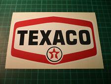 TEXACO Oil Pair of Stickers - FI Sport Rally