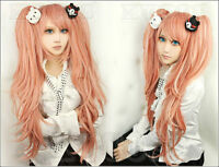 Dangan Ronpa Super Danganronpa 2 Izuru Kamukura Black Hair cosplay Wigs 150cm