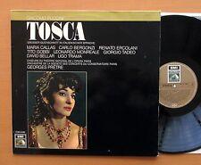 Puccini Tosca Maria Callas Tito Gobbi Pretre NM/VG EMI 1C 063-01 965