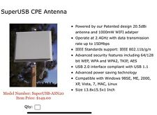 wireless wifi antenna booster 20.5 dbi Hacking Receiver Transmitter