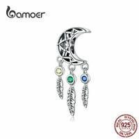 BAMOER Women European CZ Charm 925 Sterling Silver Dream Fit Bracelets Jewelry