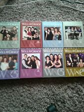 Will & Grace 1-8 The Complete Series Seasons 1 2 3 4 5 6 7 8 DVD