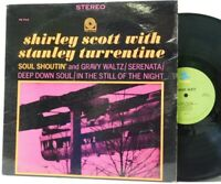 Shirley Scott Stanley Turrentine LP Soul Shoutin on Prestige