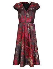 M&S Per Una Jacquard Fit & Flare Dress Size UK18/EUR46 BNWT