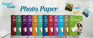 A4 INKJET PHOTO PAPER FULL RANGE GLOSS MATTE, PAPERCUTZ PROFESSIONAL