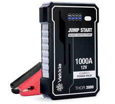 1000 Amp Jump Starter Peak Battery Portable Power Bank Car Truck RV Jumper Box