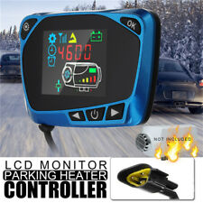 12/24V Parking Heater Controller Switch LCD Monitor Car Track Air Diesel Heater