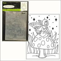 Fairy Mushroom embossing folder - Darice embossing folders 30008397 All Occasion