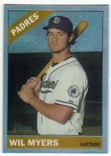 2015 Topps Heritage High Number Chrome Refractor /566 #621 Wil Myers Padres