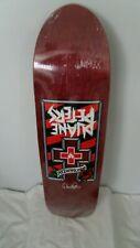 Duane Peters RARE RED CROSS Black Label In Shrink old skool skateboard rose deck