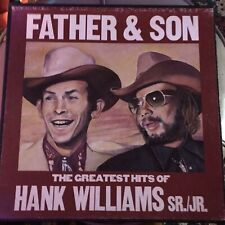 Father & Son-The Greatest Hits of Hank Williams Sr./Jr. Columbia 5P 7282 5 LPs