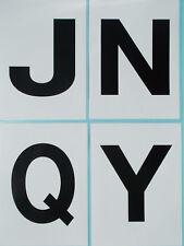 Cowboy Dressage Arena Marker stickers x 4 JNQY 150 x 200mm Extension Set (4-CB)
