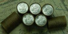 1x $20 BU Silver Morgan Roll UNCIRCULATED Dollar Lot Random Dollars Ends Pre 21