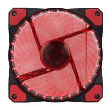 GAMEMAX Galeforce 32x LED Red Case CPU Heatsink or Water Cooling Fan Molex 3pin