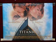 Titanic 1997 Double-Sided 30x40 UK Original Movie Poster Kate Winslet