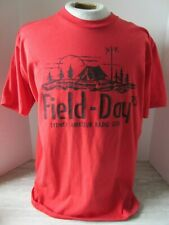 Old Vintage 1993 Field Day Red T-Shirt Size L Sydney Amateur Radio Club