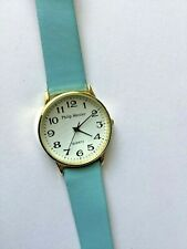 Philip Mercier, Batt, Analogue,Light Blue strap, white face, X Large Watch - New