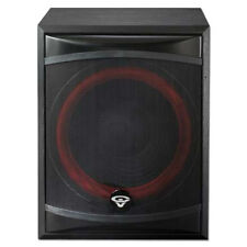 "NEW Cerwin Vega 12"" Powered Subwoofer Speaker.Theater Bass Speaker.12inch.XLS12S"