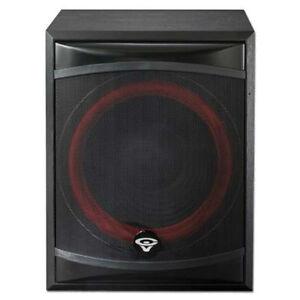 """NEW Cerwin Vega 12"""" Powered Subwoofer Speaker.Theater Bass Speaker.12inch.XLS12S"""