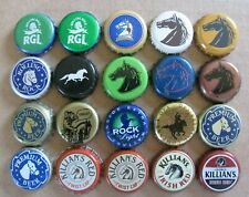 20 DIFFERENT HORSE THEMED BEER BOTTLE CAPS