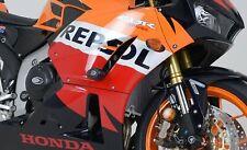 Honda CBR600RR 2013-2018 R&G Racing Radiator Guard RAD0146BK BLACK