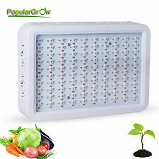 PopularGrow 300W LED Crecimiento Vegatativo Lámpara Indoor Flower&Veg Plant Grow