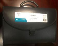 Office Depot 21-Pocket File Case, Legal Size, Black NEW