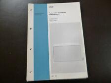 Original Service Manual Schaltplan Braun L500/1