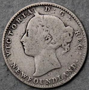 Canada Newfoundland Elizabeth II 1896 Ten Cents #110221