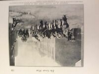 m17c6 ephemera ww1 picture german wagons in mouland belgium