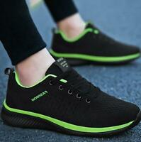 Men's Trainers Running Breathable Shoes Sports Casual Walking Athletic Sneakers