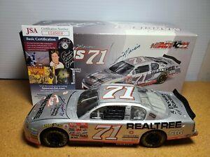 2002 Dave Marcis #71 Team Realtree/Retirement Auto w/JSA 1:24 NASCAR Action MIB