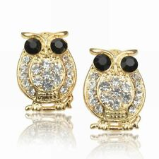 Rhinestone Leverback Stud Costume Earrings
